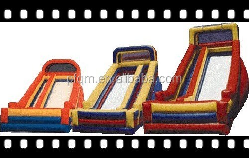 2015 hot sale amazing manufacturer children's games inflatable slide used for sale