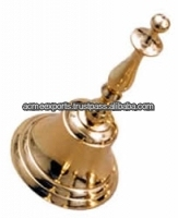 Small Brass Bells wholesale with Brass polished Lacquer Finish