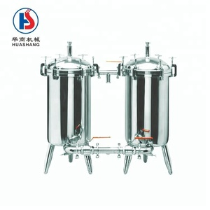 Stainless steel industrial filter equipment/duplex filter