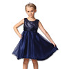 Unique Summer Flower Sequins Girls Wear Children Party Dresses L-100