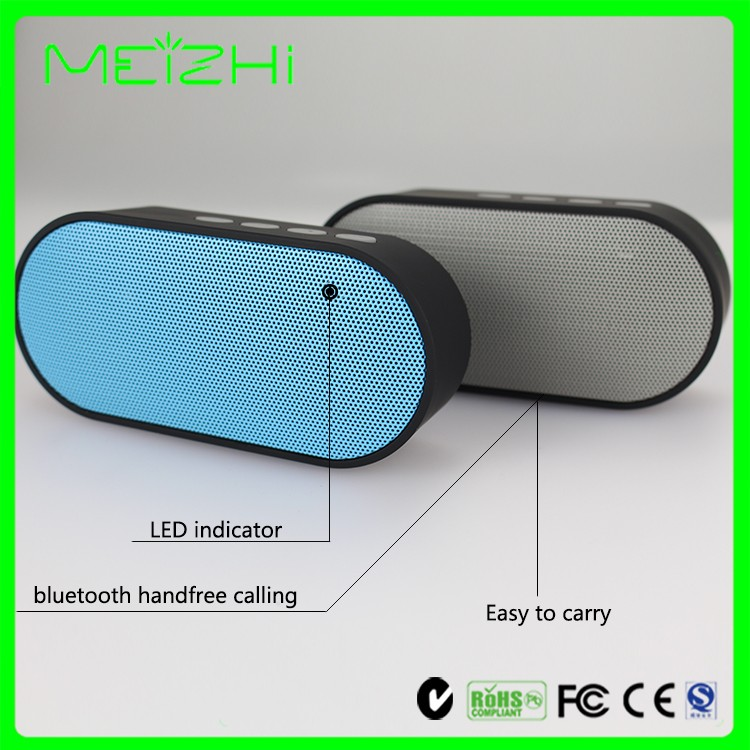 Cool portable computer digital vibration speaker bluetooth , AUX