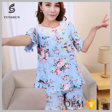 Hot Sale secret treasures sleepwear cotton fat women nightwear
