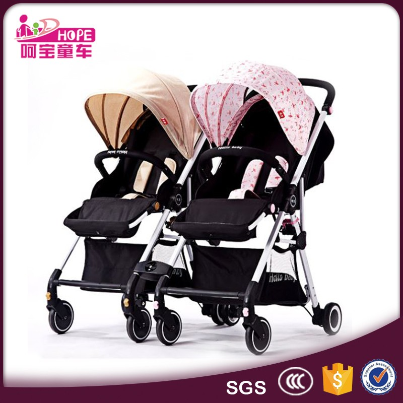 Luxury Quality Triplet Strollers For Three New Born Babies