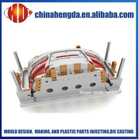 OEM mold car bumper design