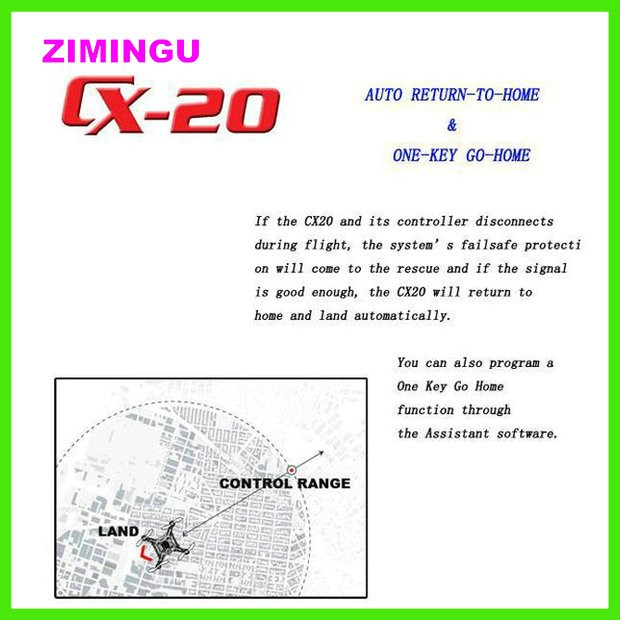 Great Gift In Stock Ready To Fly Professional Version Drone With 12mp Camera RC Quadcopter CX -20