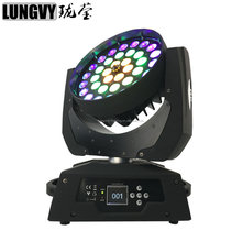 36x18w 6in1 moving head led rgbwa uv Zoom LED Moving Head Wash Light DMX led zoom lighting