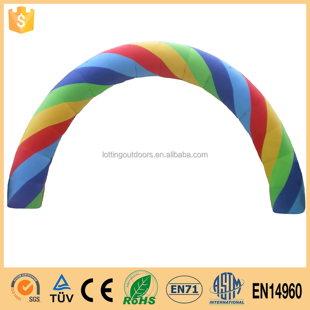 Customized Rainbow Inflatable Arch