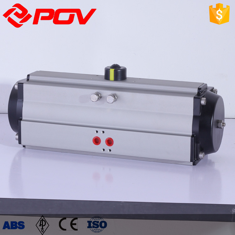 0-90 degree air torque IP67 single acting pneumatic cylinder bore