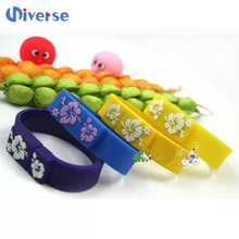 Good quality bulk 1gb usb flash drives wristband usb flash memory stick custom silicone usb bracelet