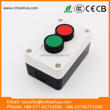 High quality 380 voltage push button switch with NC/NO contact