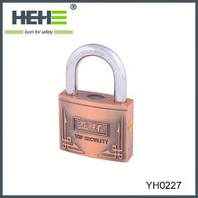 2015 New arrival padlock for suitcase with factory price