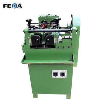 FEDA automatic anchor bolts making machine high speed screw rolling machine thru feed