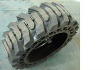 solid skid steer loader tires