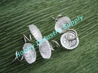 Free Shipping Clear Upholstery Sofa Cover Twist Pins made in China
