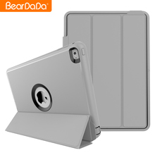 Guangzhou Wholesale Auto Wake Up cover case for ipad 6,pu leather for ipad 6 case
