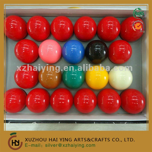 22 custom snooker billiard balls 2-1/16''