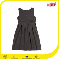 Baby dress new style jumper dress elsa style one piece dress pattern for middle school uniforms
