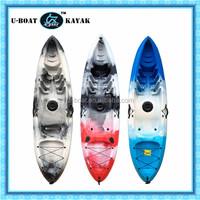 roto molded plastic banana boat children kayak