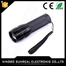 Outdoor Customer Logo Telescopic Focus Promotions AAA Battery Bright Mini Tactical Flashlight