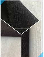 Twill weave woven fusible interlining 75 D for garment