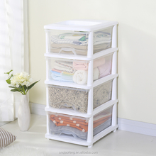 Top quality plastic sliding wardrobe storage boxes for clothes
