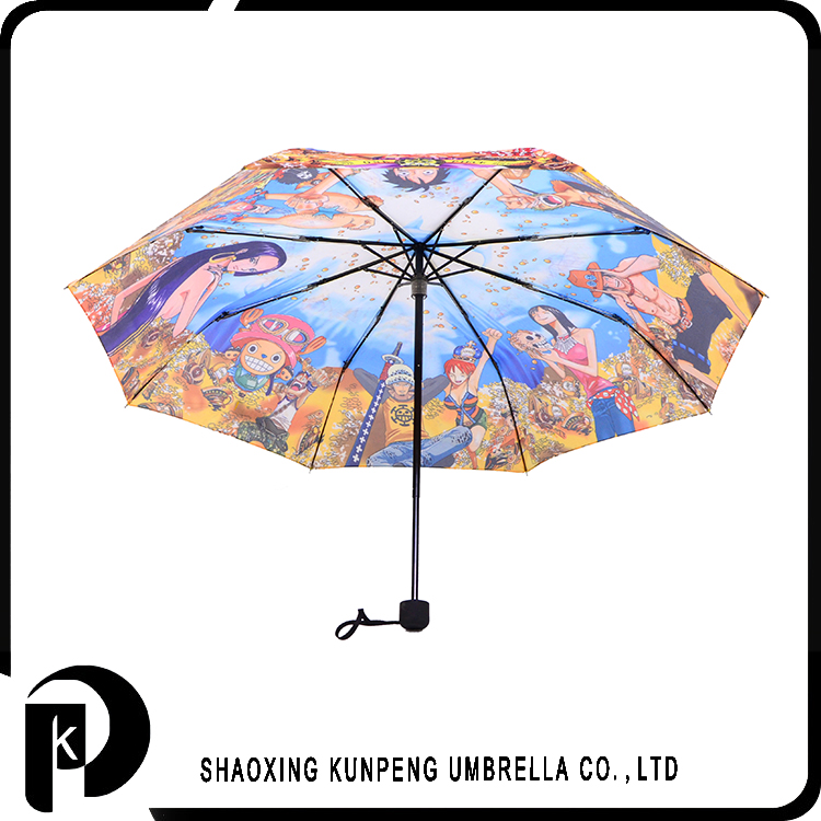 Custom Creative Desgin cartoon photo print umbrellas cartoon printed customized logo kids umbrella