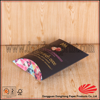 Custom Design Foldable handmade soap paper pillow case packaging