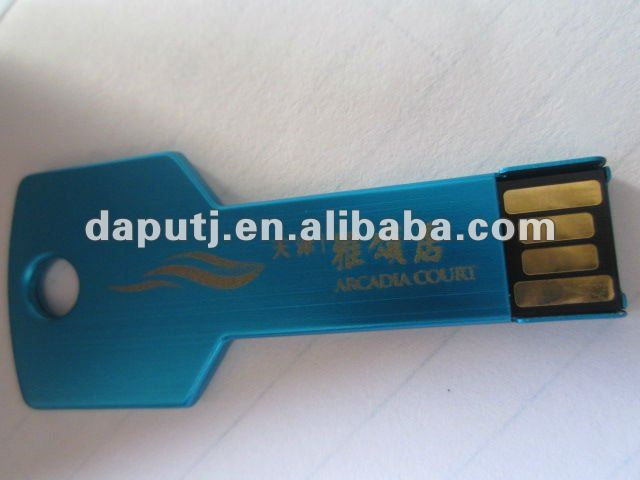 2-4G Capacity and metal key usb pen drive Style usb flash key