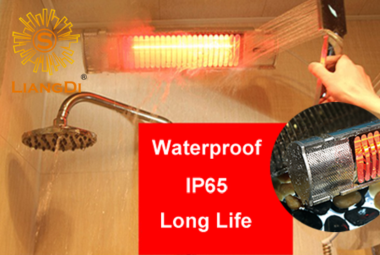 remote control commercial heater for Japan patio quality heater waterproof Ip65