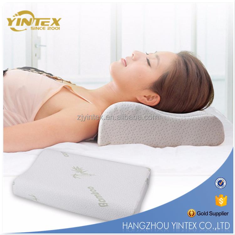 list of bamboo orthopedic pillow
