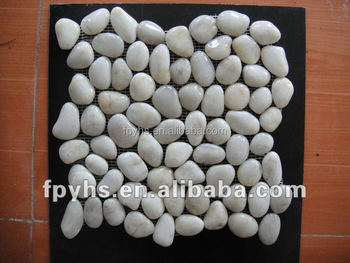 white marble cobble