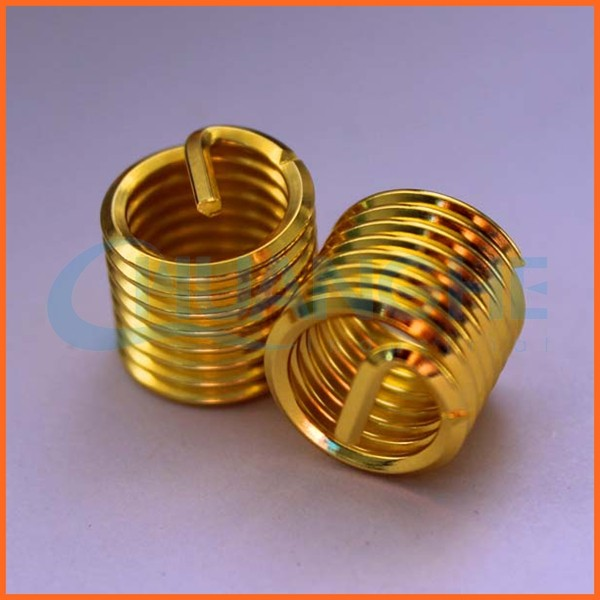 Good price brass blind thread insert for plastic