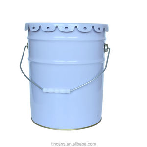 20 liter stainless steel paint drum bucket for coating adhesive latex