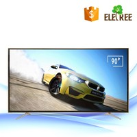 "Guangzhou 90inch flat screen television led backlight tv 90"" smart 4k tv"