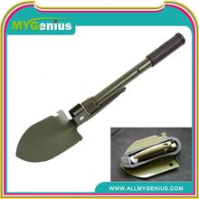 gardening tools garden shovel folding spade hoe ,H0T030 unbreakable snow shovel , hand shovel with handle