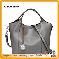 Guangzhou high quality fashion cheap genuine leather ladies replica handbags