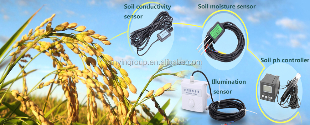 2017 new designed ph meter for soil, water ph meter sensor, industrial ph controller,