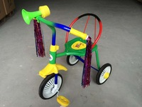 Cheap iron frame kids tricycle from specialty manufacturer of China