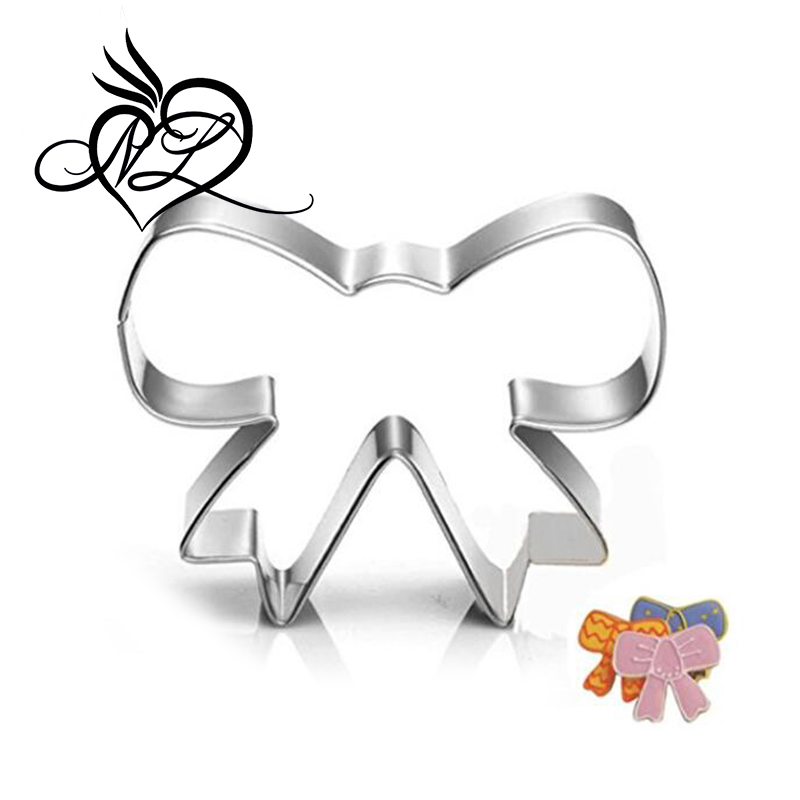 Bowknot Cookie Cutter-Stainless Steel