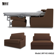 Fabric single seat sofa bed furniture for hotels,hospital sofa bed, sex sofa beds