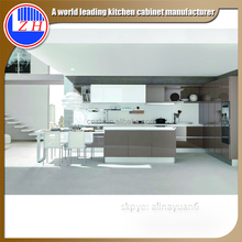 China made modern mdf kitchen cabinet design for small kitchen
