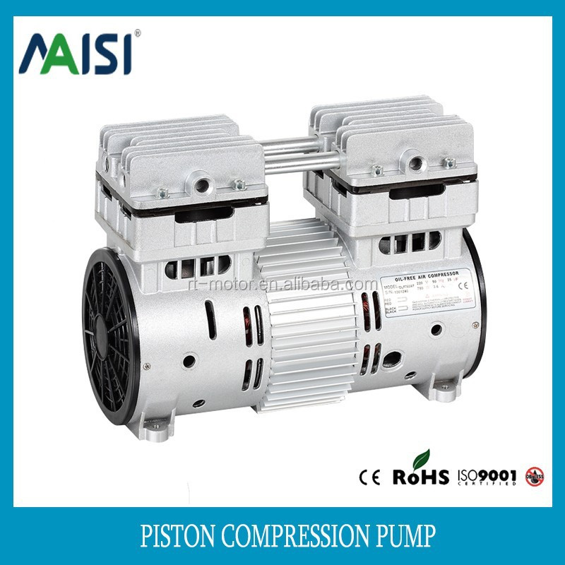 220v ac mini Electric piston air vacuum pump 115L/Min compressor pump manufacture