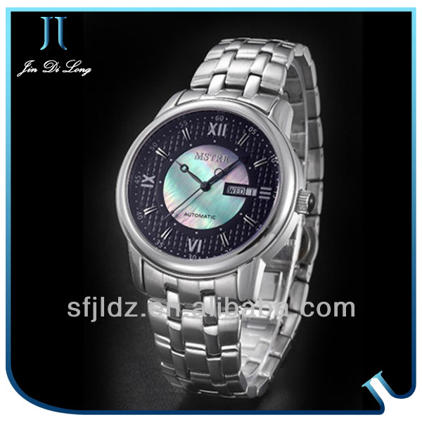 Chinese Famous Brand Chronograph Stainless Steel Band Top 10 Imports Men Watch