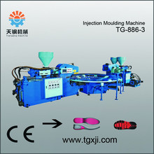 sole making machine TPR PVC TPU Three Color Sole Injection Machine