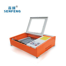 Laser engraving machine for engrave on the coating of metal SF400