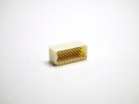 Wafer Pitch 1.0mm 90D SMD Dual Row 20 to 50 Contacts Gold Flash NY6T Wire to Board Connector