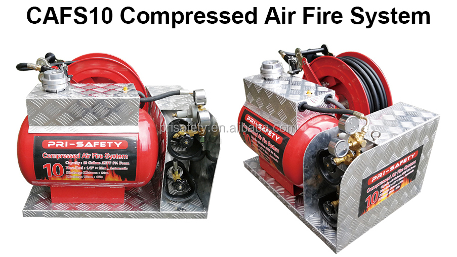 2018 CAFS 10 Gallon Compressed Air Foam Fire Suppression Systems
