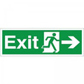 2017 trending products wholesale fire exit sign