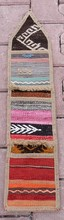 "Vintage,Wall Hanging Turkish Rugs Handmade LETTER BOX,ENVELOPES,MAIL BOX 7""X30"""
