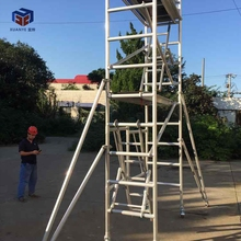 Construction aluminium mobile scaffolding tower platform